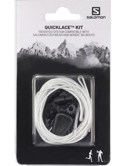 Salomon Quicklace Kit - blanc/noir
